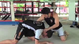 Wrestling for MMA instructional with JJ Ambrose: Quarter Nelson defence @ Tiger Muay Thai
