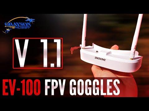 Eachine EV100 FPV Goggles Video Manual - Perfect FPV Google for Beginning FPV Drone Racing