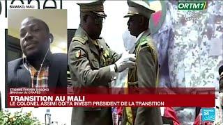 Assimi Goïta investi président de transition du Mali : vers des élections en 2022 ?