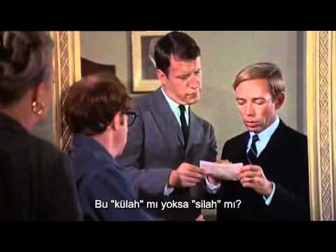 Woody Allen - Take the money and run - Bank robbery (Türkçe altyazılı)