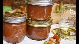 How To Make Rhubarb Freezer Jam | Radacutlery.com