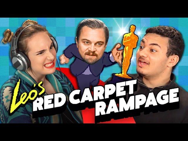 LEO'S RED CARPET RAMPAGE (Teens React: Gaming)