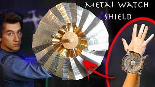 Make an Expandable METAL Wrist Watch Shield (V2) - Percy Jackson Style!