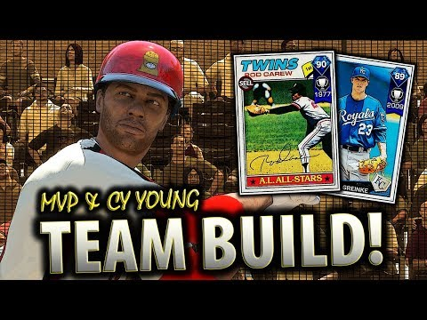 MVP & CY YOUNG TEAM BUILD!! MLB THE SHOW 18 DIAMOND DYNASTY