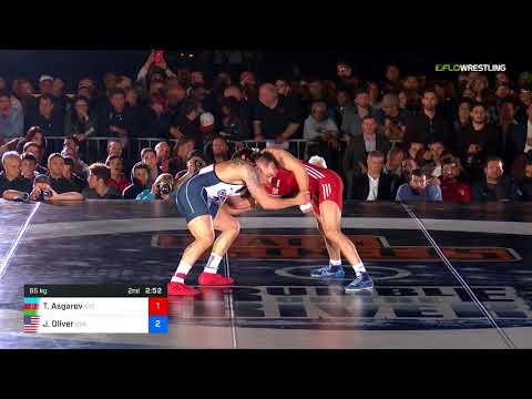 2018 Beat The Streets/Super Matches 65 RR Rnd 1 - Togrul Asgarov (AZE) Vs. Jordan Oliver (USA).mp4