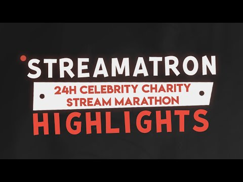 Good Game Global Streamatron 24-hour Charity Stream Highlights