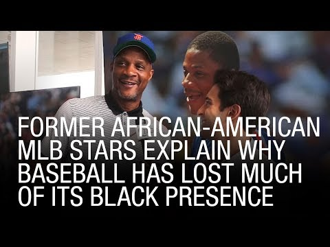Former African-American MLB Stars Explain Why Baseball Has Lost Much Of Its Black Presence