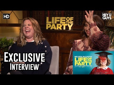 Melissa Mccarthy & Maya Rudolph -  Life of the Party Exclusive Interview