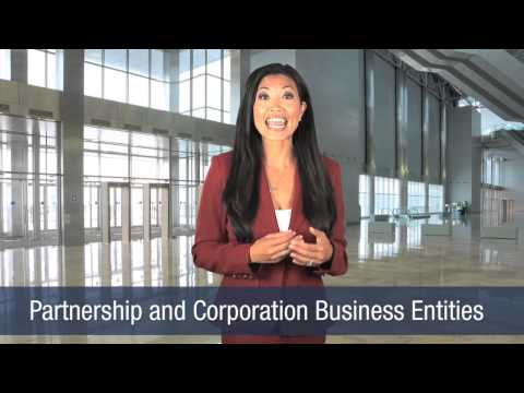 Partnership and Corporation Business Entities