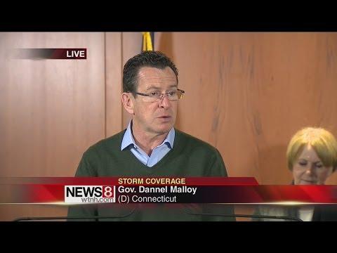 Gov. Dannel Malloy on Storm Response