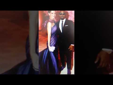 Jamie Foxx and Katie Holmes together,  at The Met Gala, NYC.