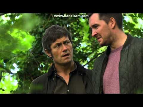 Emmerdale - Pete tells James that he kiled Ross and takes him to where he put the body