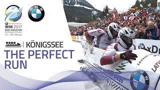 The Perfect Run | 4-Man Bobsleigh | BMW IBSF World Championships 2017