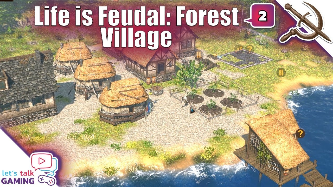 Life is Feudal: Forest Village - Securing Basic Food Production - S1E02