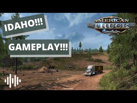 IDAHO GAMEPLAY!!! American Truck Simulator (ATS) Map Expansion!!