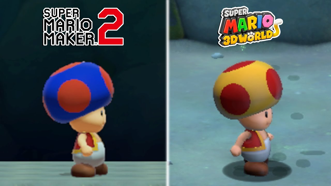 Download 25 More Differences Between Super Mario 3D World and Super Mario Maker 2