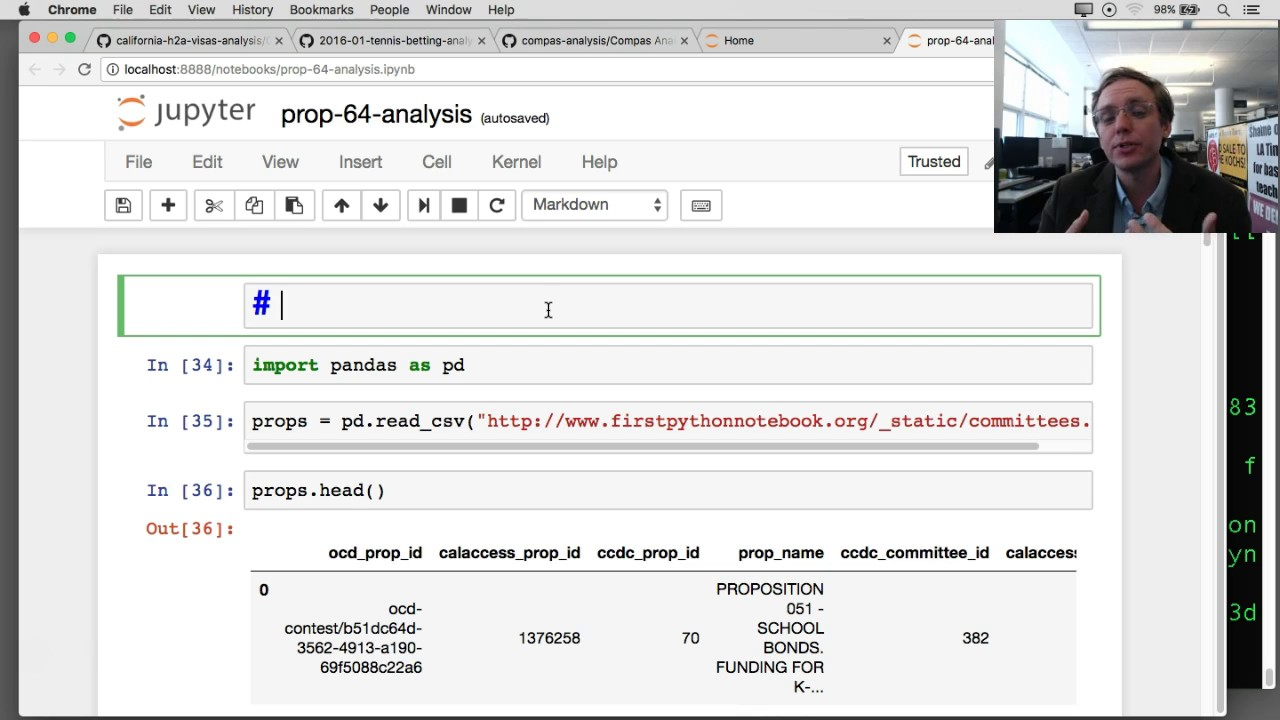 Chapter 13: Hello Markdown — First Python Notebook 1 0 documentation