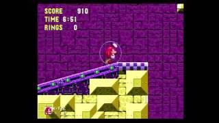 Sonic 3K Glitched area in Launch Base Act 1