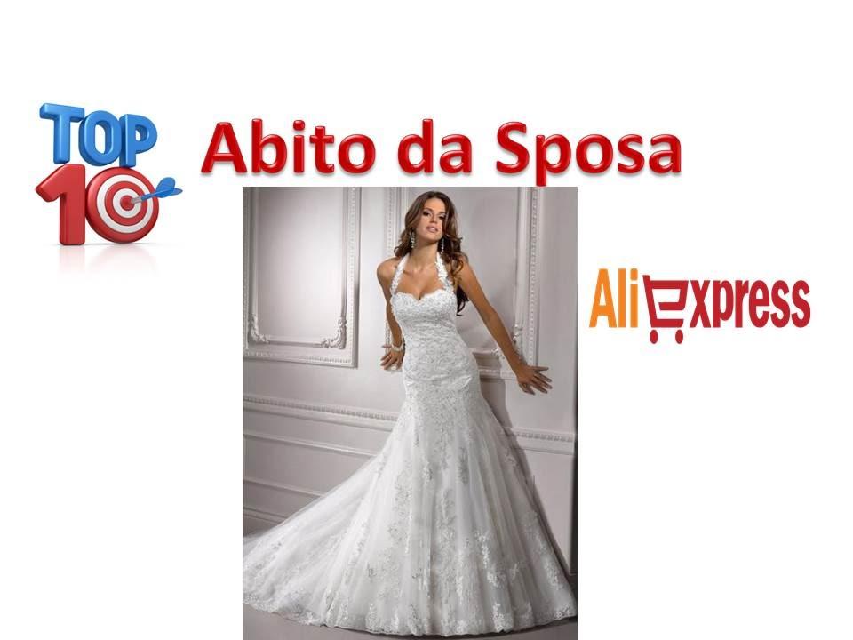46b67a3f00c8 I 10 Abiti da Sposa Più Belli del Aliexpress Cina - YouTube