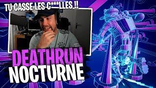 ULTRA RAGE... Grosse embrouille avec Doc Jazy à cause de ce Deathrun Nocturne sur Fortnite Créatif !