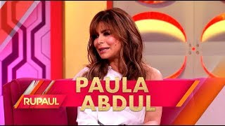 Paula Abdul and Adam Rippon Stop by \'RuPaul\'