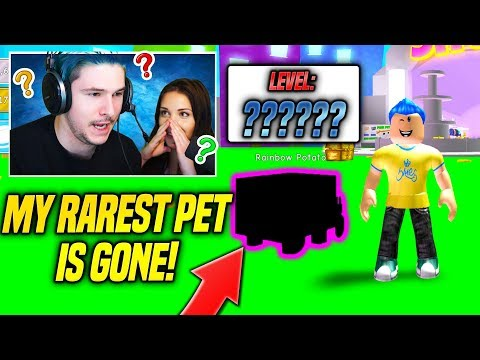 YOU WON'T BELIEVE WHAT HAPPENED TO MY RAREST PET IN PET SIMULATOR!! (Roblox)