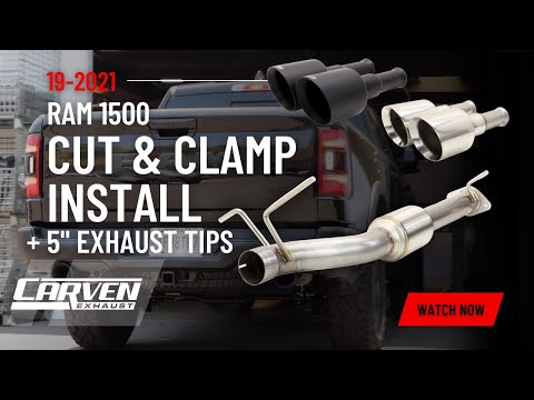2019 RAM TRUCK 1500 CUT & CLAMP DIRECT FIT MUFFLER KIT