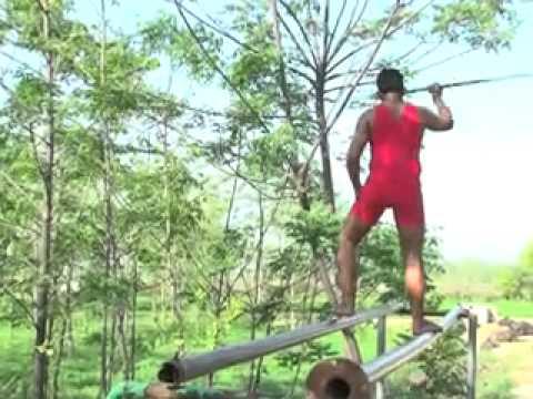 Kathgarh Stunt of sunil phelvan