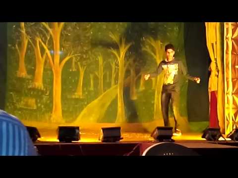 Dubstep dancing.. junior raghav