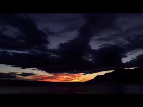 Sunset in Croatia Timelapse