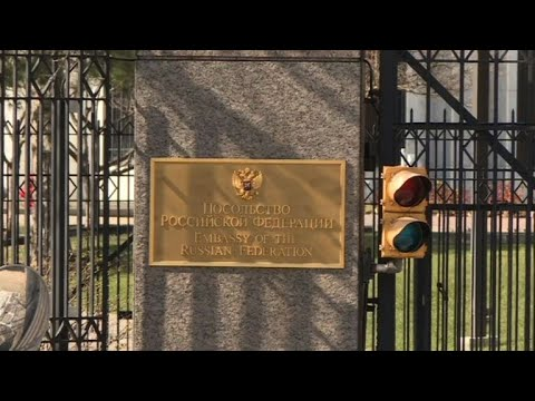Russian diplomats expelled from Washington embassy