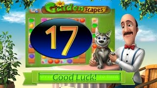 Gardenscapes 17 level Walkthrough