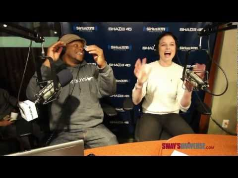 "Rachel Nichols Raps to Eminem's ""W.T.P"" on #SwayInTheMorning"