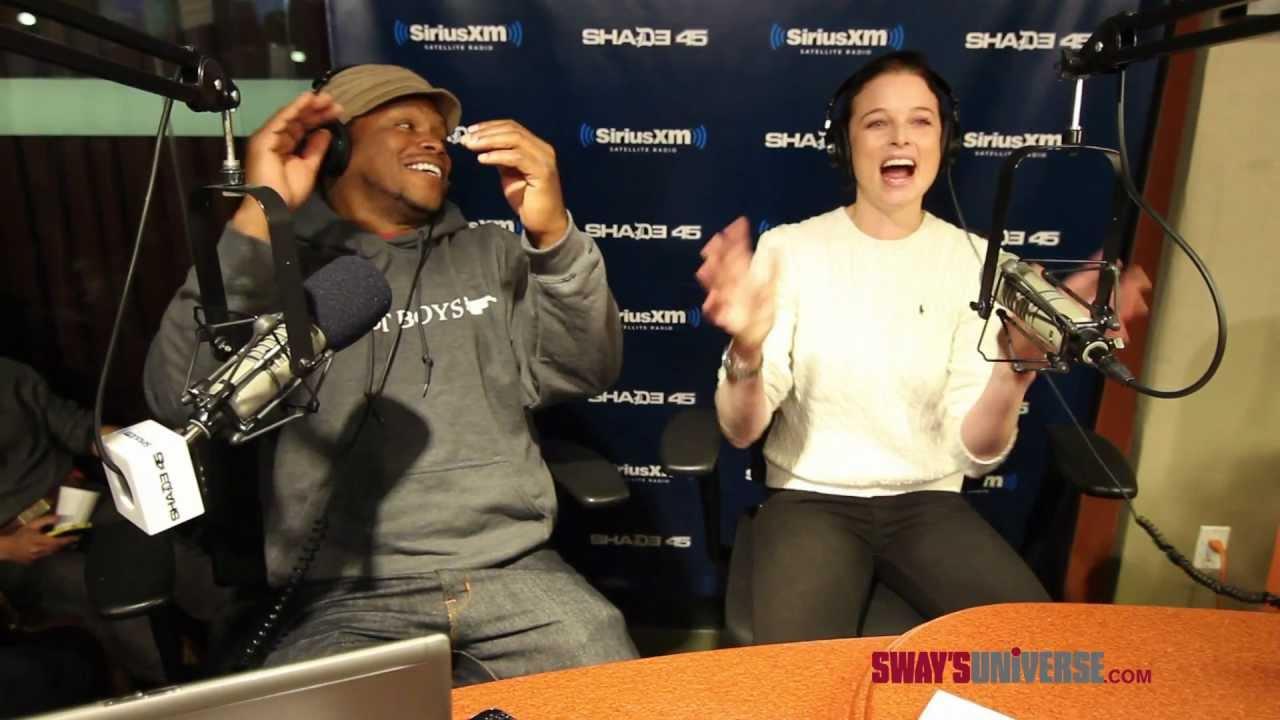 Rachel Nichols Raps To Eminem S W T P On Swayinthemorning Sway S Universe Youtube