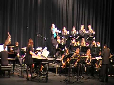 Solon High School Jazz Band Of Solon Iowa Competes At