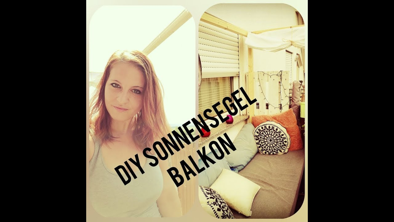 diy sonnensegel balkon paletten lounge g nstig youtube. Black Bedroom Furniture Sets. Home Design Ideas