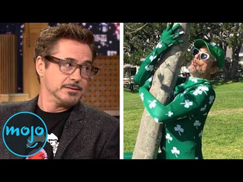 Top 10 Awesome Robert Downey Jr. Moments
