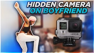 HIDDEN CAMERA ON BOYFRIEND!!! *MUST WATCH*
