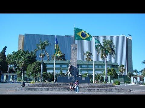 GOIÂNIA - A bela capital de Goiás. HD