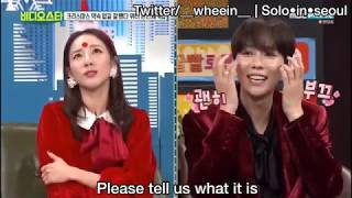 {PART 2} ENG SUB Video Star christmas special episode with WINNER (위너) & Sandara Park