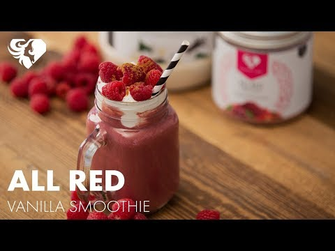 Red Superfood Vanilla Smoothie  | Women's Best Protein Recipes