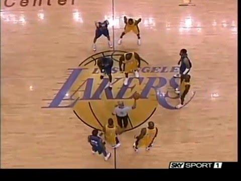 Finali NBA Lakers - Pistons gara 2 2004 Tranquillo Buffa