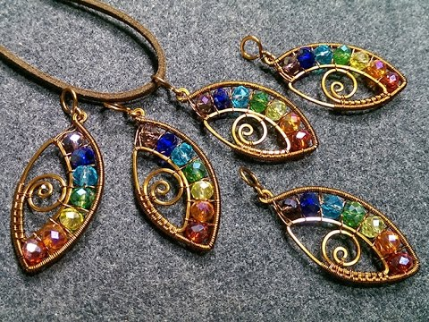 eye-pendant-with-stones-rainbow-colors--wire-wrapping-stones-164