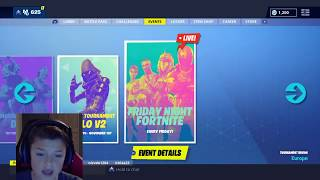 FRIDAY NIGHT FORTNITE TOERNOOI - V-BUCKS GIVEAWAY