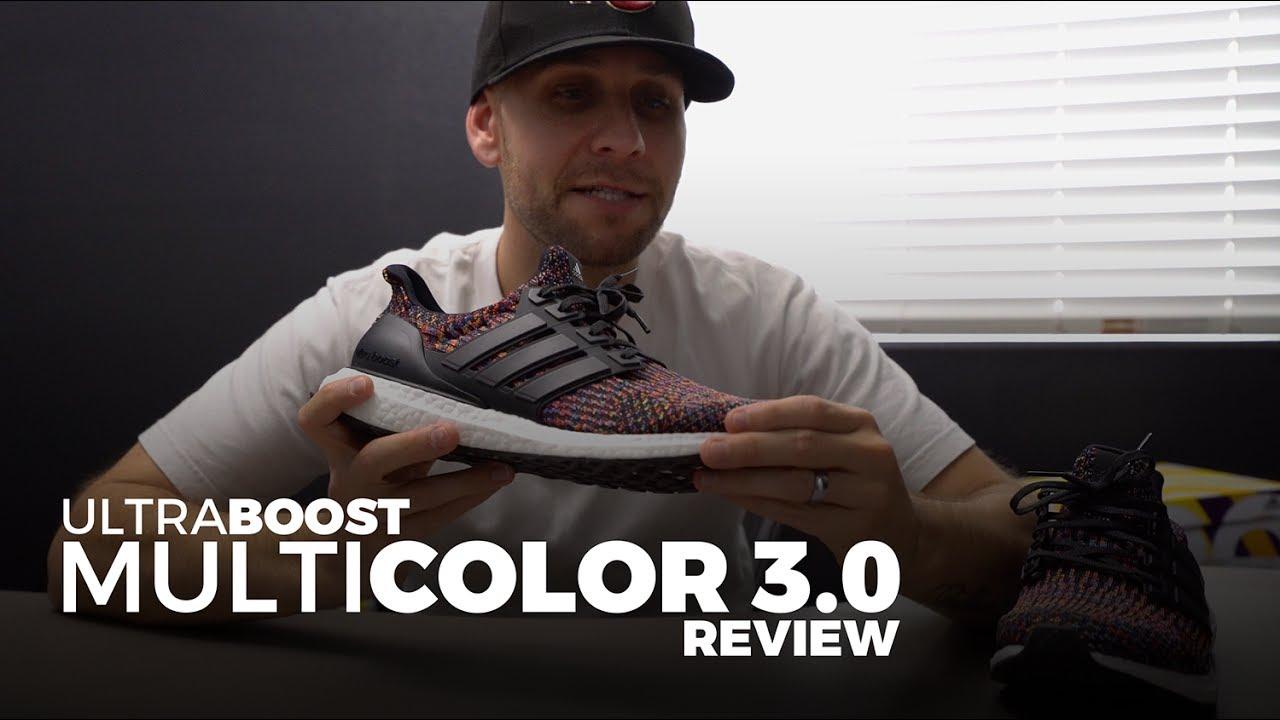 Men's Adidas Ultra Boost 3.0 LTD Grey Leather Cage BB1092