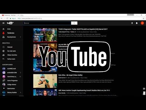 Youtube Negro/Black - ¿Cómo activarlo?
