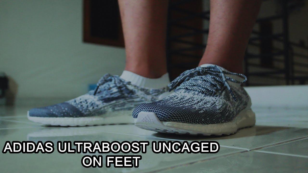 Adidas ultraboost fece uscire oreo a piedi su youtube