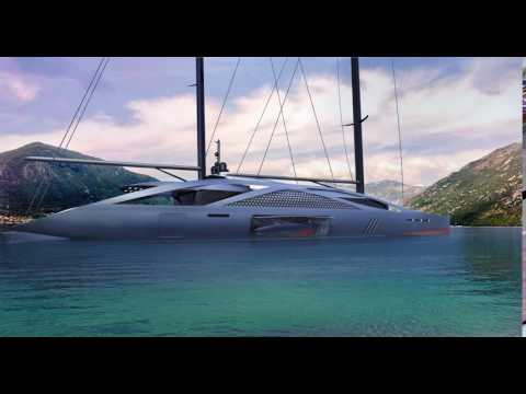 Aquila Sailing Yacht by Dani Santa Vives [Video 2]