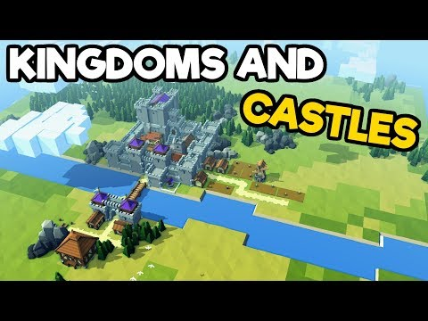 Kingdoms and Castles Gameplay  Impressions - Infrastructure Update to Castle Building Fun!