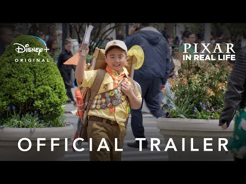 Kari Steele - Animated Characters Come To Life In This PIXAR IRL Trailer!
